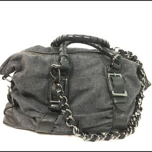 Kenneth Cole Large Satchel Chain Strap*